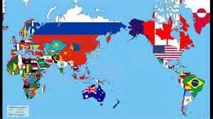 world map of flags