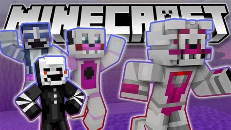 minecraft freddys nights at five five nights at freddy s sister location foxys first