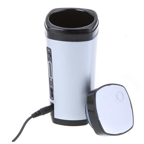 Teko Listrik Surabaya luxury usb auto stirring and warming coffee cup 130ml