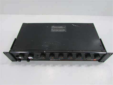 Mixer Jbl jbl urei 5330 6 channel microphone mixer premier