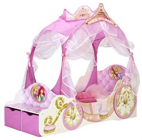 disney princess carriage toddler bed hellohome worlds
