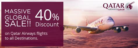 Offer Letter Qatar Airways 40 on qatar flights to all destinations travelwings