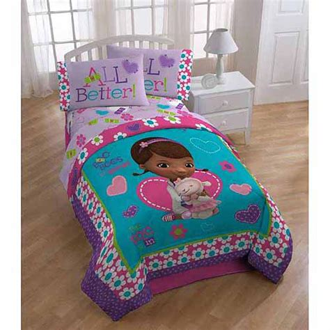 doc mcstuffins bedroom disney s doc mcstuffins twin and full bedding comforter walmart com