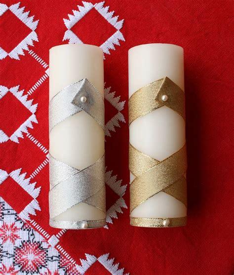 como decorar las velas navideñas velas plateadas velas plateadas vela plateada vela