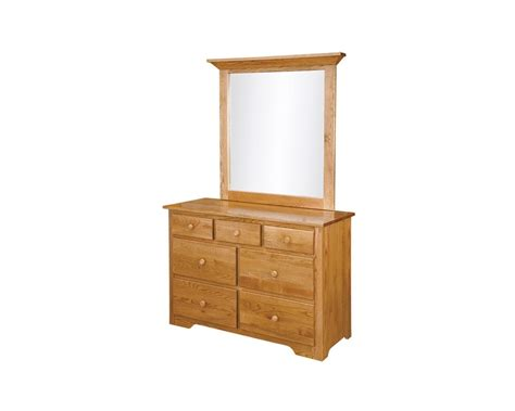 shaker style dresser with mirror amish made shaker small dresser homesquare furniture