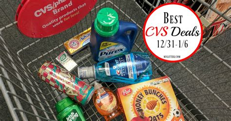 best cvs deals this week 12 31 1 6 mylitter one deal