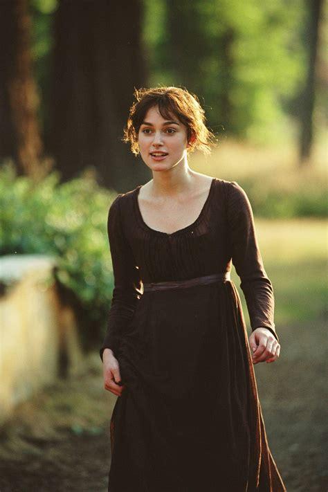 keira knightley as elizabeth bennet pride and prejudice