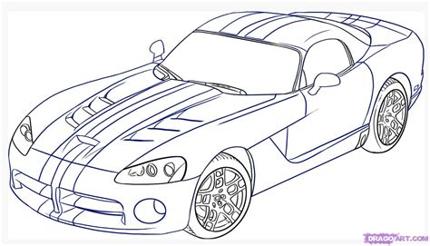 how to do doodle drawings how to draw a dodge viper step by step cars draw cars