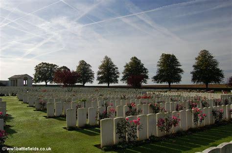 serre no 2 cemetery serre sheffield memorial park world war one battlefields