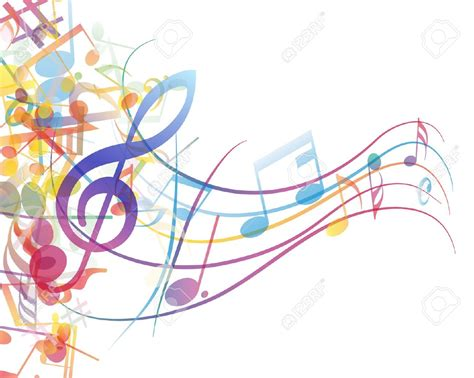 clipart musicali noten bunt clipart collection