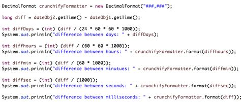 Compare Calendar Time Java Program To Calculate Difference Between Two Dates In Java