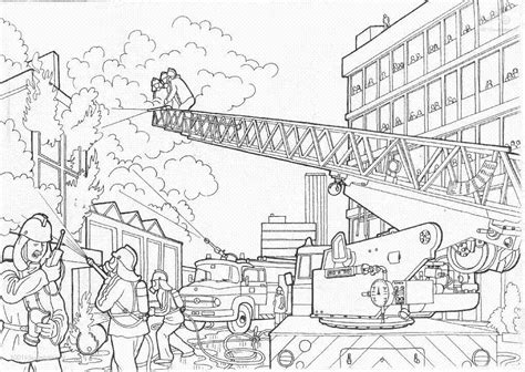 coloring page of house on fire fire station coloring pages coloring home