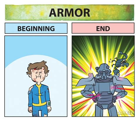 Power Bible Comic 4 fallout beginning vs end dorkly post