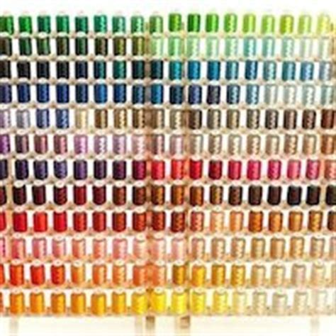embroidex color chart what is the best embroidery thread for a machine