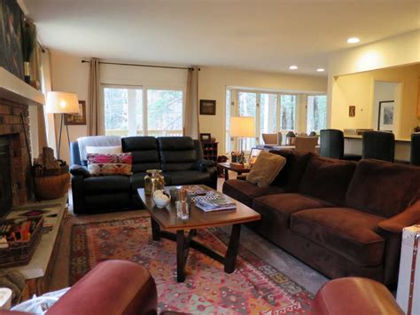 living room treehouse the tree house golf course rental home in harbor springs mi