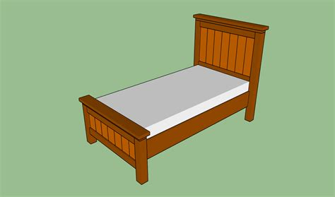 Plans For Bed Frames Bed Frame Plans Bed Plans Diy Blueprints