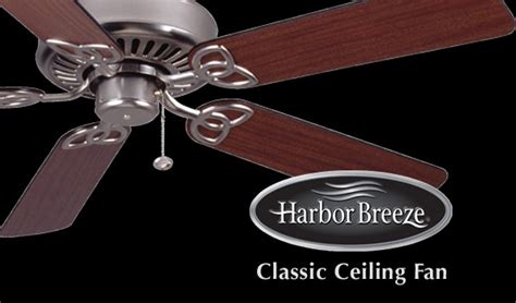 Harbor Breeze Builder S Series Ceiling Fan