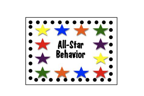 behavior punch card template there s a quot 1st quot for everything punch cards