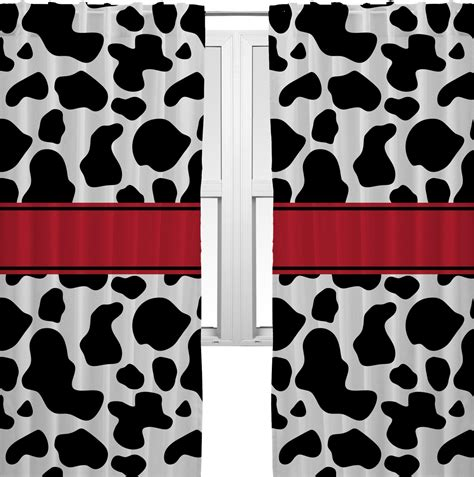 Cow Print Curtains Cowprint W Cowboy Curtains 20 Quot X63 Quot Panels Unlined 2 Panels Per Set Personalized