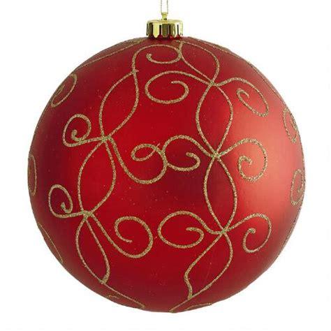 ornaments shatterproof jumbo swirl shatterproof ornament tree