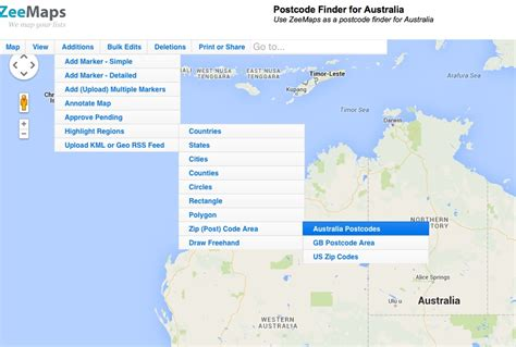 Address And Postcode Finder Australia Postcode Finder For Australia Interactive