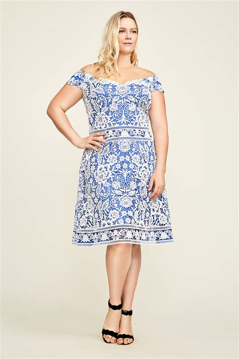 Miya Dress miya lace cocktail dress plus size tadashi shoji