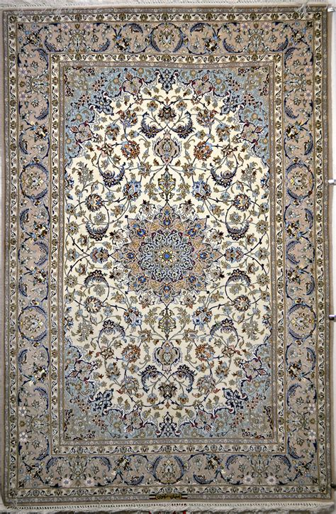 picture rugs isfahan silk rug item 777