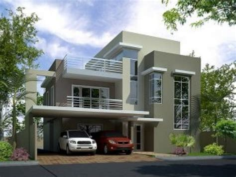 Contemporary House Plans With Walkout Basement by 3 Story Modern House Plans Unique House Plans Walkout