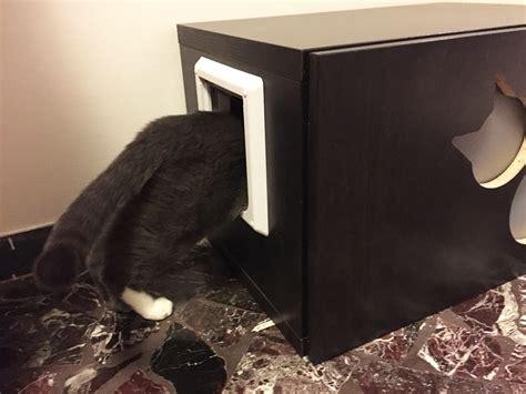 mobili lettiere per gatti mobile per lettiera per gatti con intagli athleticat it