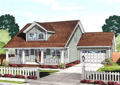 cozy cottage house plans cozy cottage with removable garage 52222wm