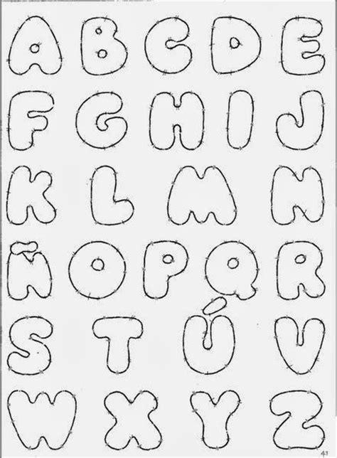 letras gruesas para carteles moldes de letras del abecedario para carteles para