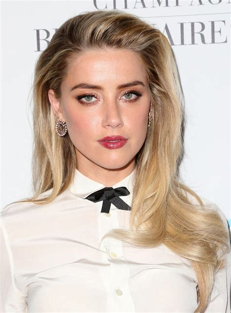 blonde hair amber eyes amber heard hair color 2017 celebrity hair color guide