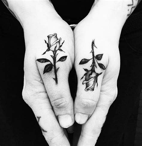 matching rose tattoos amazing tattoos meaning and ideas for a fascinating