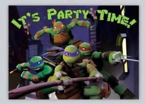 items similar to teenage mutant ninja turtles birthday