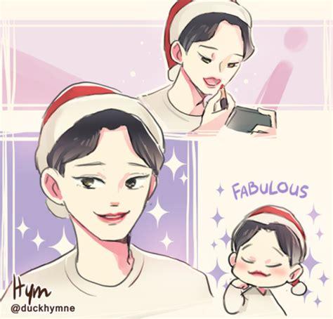 theme line chanbaek hym s fanart blog