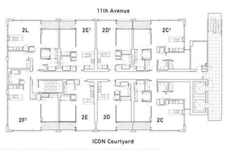 Icon Condo Floor Plan by Icon Floor Plan 2