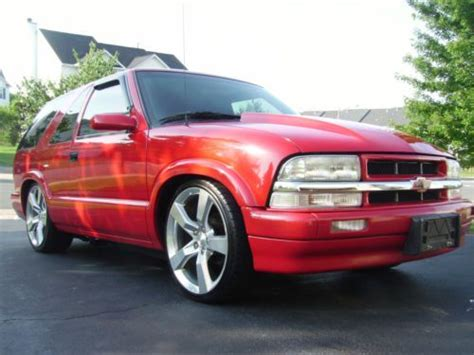 95 camaro wheels sell used custon 95 blazer 2000 front lowered