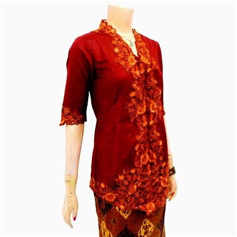 Atasan Kebaya New Encim Bordir By P Dan L Collection Hijau kebaya batik modern kode kbw 126