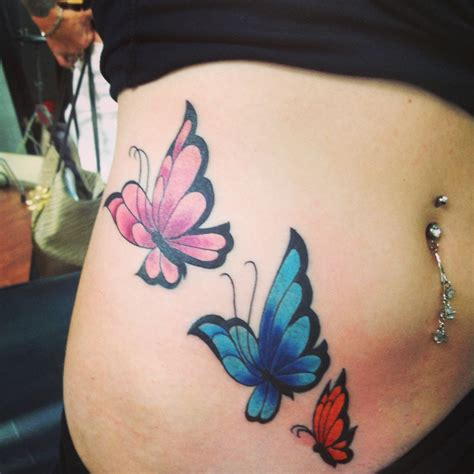 tattoo butterfly belly butterfly tattoo on side of stomach i plan on adding