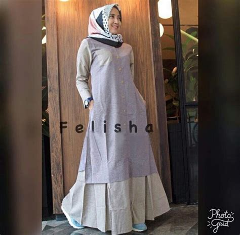 Gamis Toyobo Ori gamis remaja modern maxi felisha baju muslim terbaru