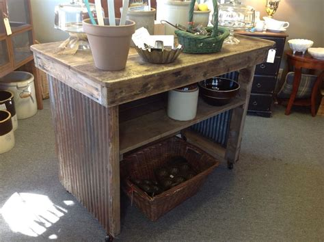 repurposed kitchen island ideas primitive kitchen island repurposed from factory
