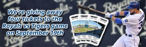 Royals Giveaway Schedule - enter to win tickets to the royals final home series matt ford
