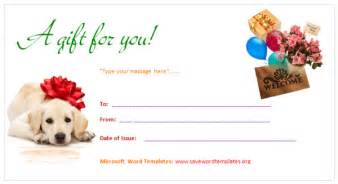 gift certificate template word free gift certificate template save word templates