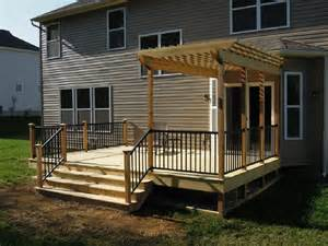 Adding A Pergola To A Deck by Similiar Adding To Existing Deck Pergola Keywords