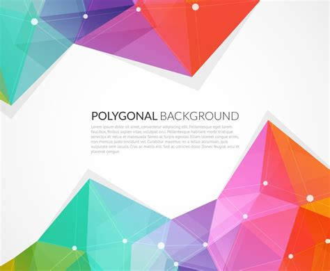triangle background vector download abstract colorful triangle vector background vector art