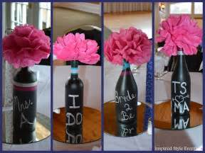 wedding shower centerpieces ideas bridal shower centerpiece idea