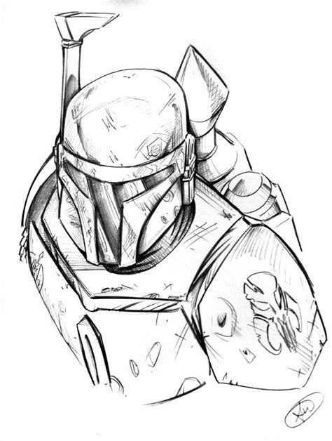 Boba Fett Coloring Page Coloring Home Boba Fett Coloring Page
