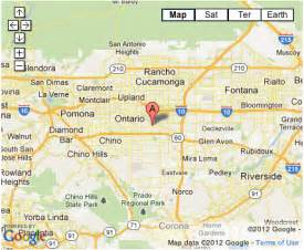 where is ontario california on california map pima apparel about us