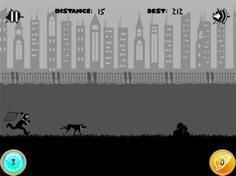 how far can dogs run run escape dynamics