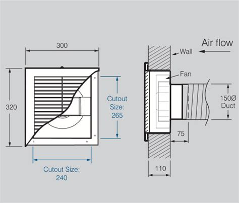 what size vent fan for a bathroom are bathroom exhaust fans standard size 28 images